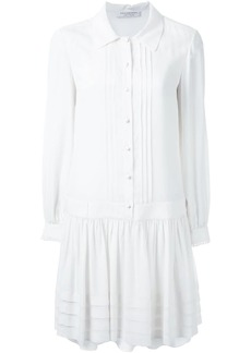 Philosophy pleated shirt dress