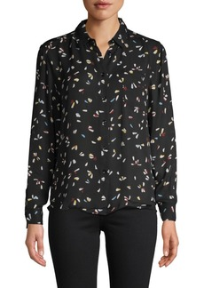 Philosophy Printed Button-Down Shirt