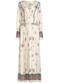 Philosophy Printed Chiffon Dress