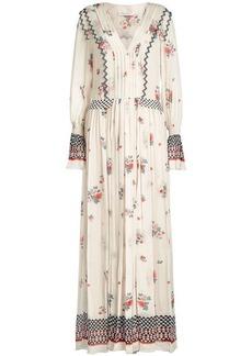 Philosophy Printed Chiffon Dress