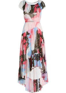 Philosophy Printed Silk Chiffon Dress