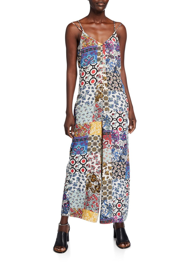 Philosophy Printed Wide Leg Jumpsuit