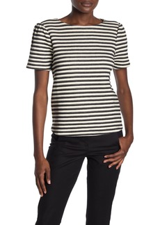 Philosophy Puff Sleeve Jacquard T-Shirt