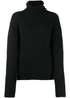 Philosophy roll neck sweater