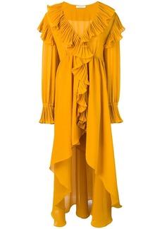 Philosophy ruffle asymmetric dress