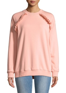 Philosophy Ruffle-Detail Sweatshirt