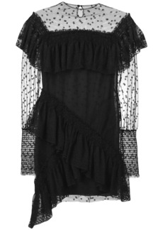 Philosophy ruffled lace dress