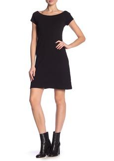 Philosophy Scoop Neck Cap Sleeve Dress