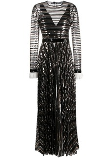 Philosophy sequin embellished gown