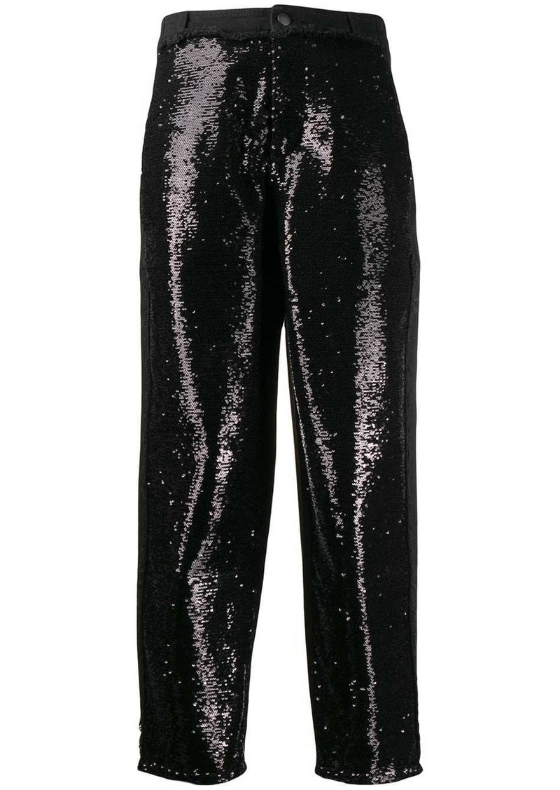 Philosophy sequin trousers