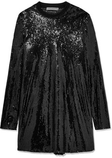 Philosophy Sequined Tulle Mini Dress