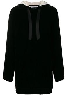 Philosophy short hooded dress