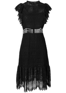 Philosophy short sleeve lace dress