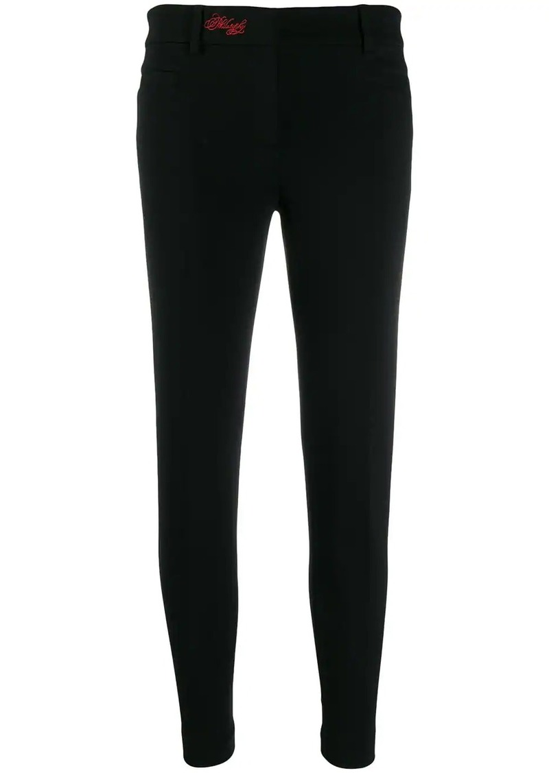 Philosophy slim fit trousers