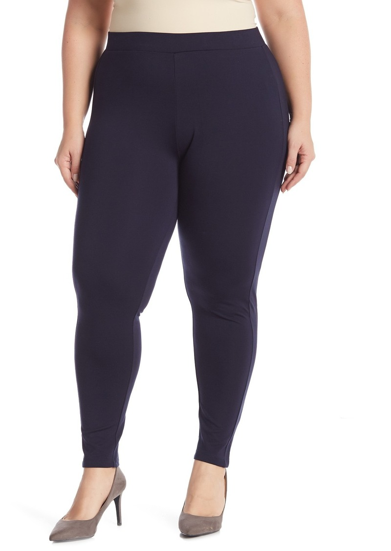 Philosophy Solid Ponte Leggings (Plus Size)