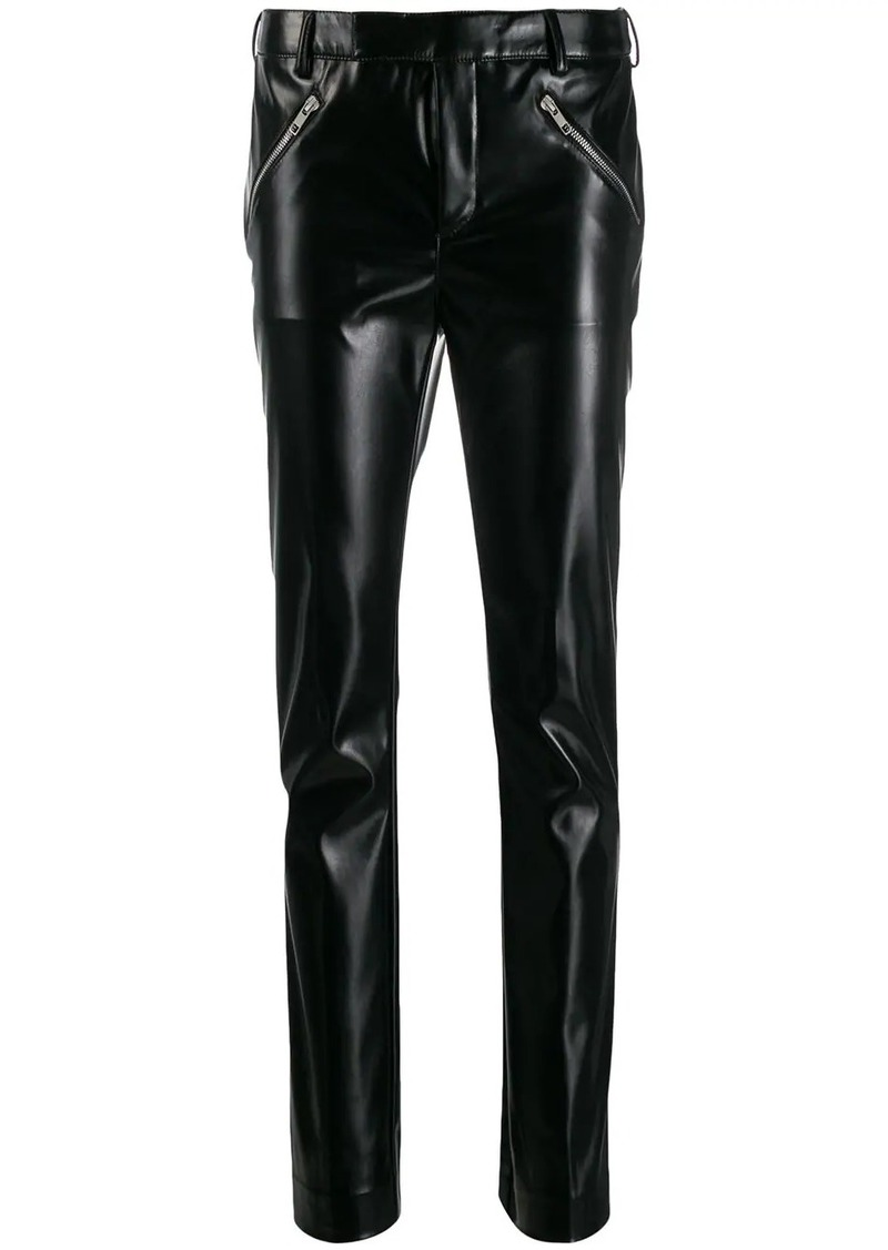 Philosophy straight-leg trousers