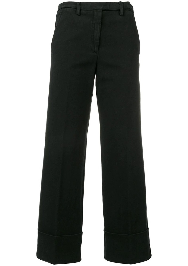 Philosophy straight leg trousers