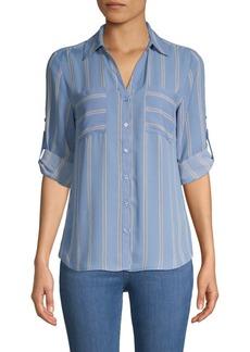 Philosophy Striped Long-Sleeve Shirt