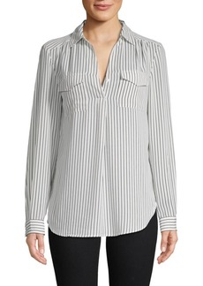 Philosophy Striped Long-Sleeve Top