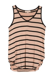 Philosophy Striped V-Neck Tank