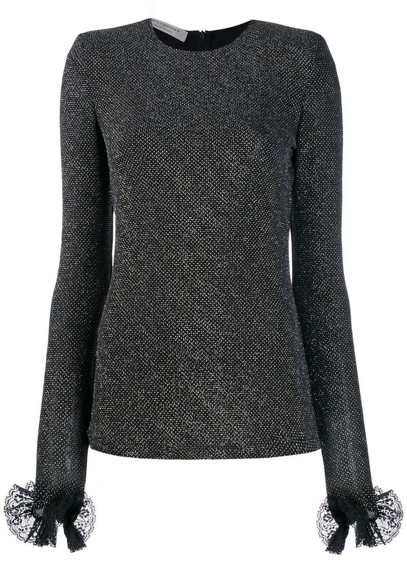 Philosophy structured knit top