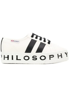 Philosophy Superga flatform sneakers