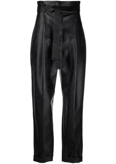 Philosophy waist-tied tapered trousers