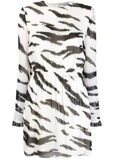 Philosophy zebra-print dress