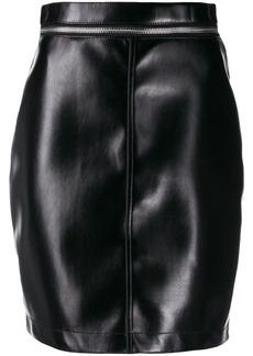 Philosophy zip waist mini skirt