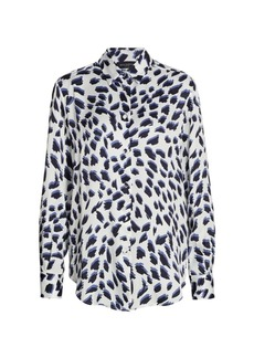 Piazza Sempione Animal-Print Shirt