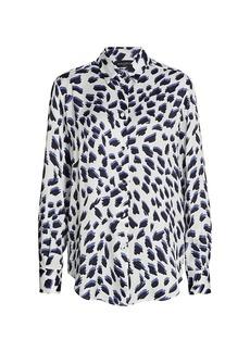 Piazza Sempione Animal-Print Shirt