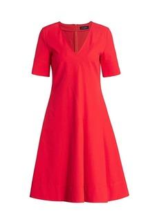 Piazza Sempione Asymmetric A-Line Dress