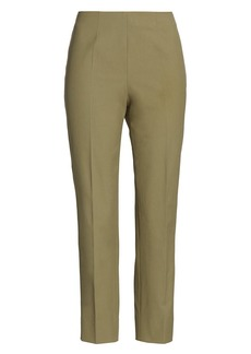 Piazza Sempione Audrey Crop Gabardine Trousers