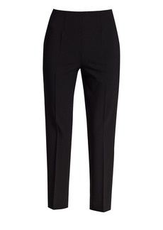 Piazza Sempione Audrey Cropped Wool Pants