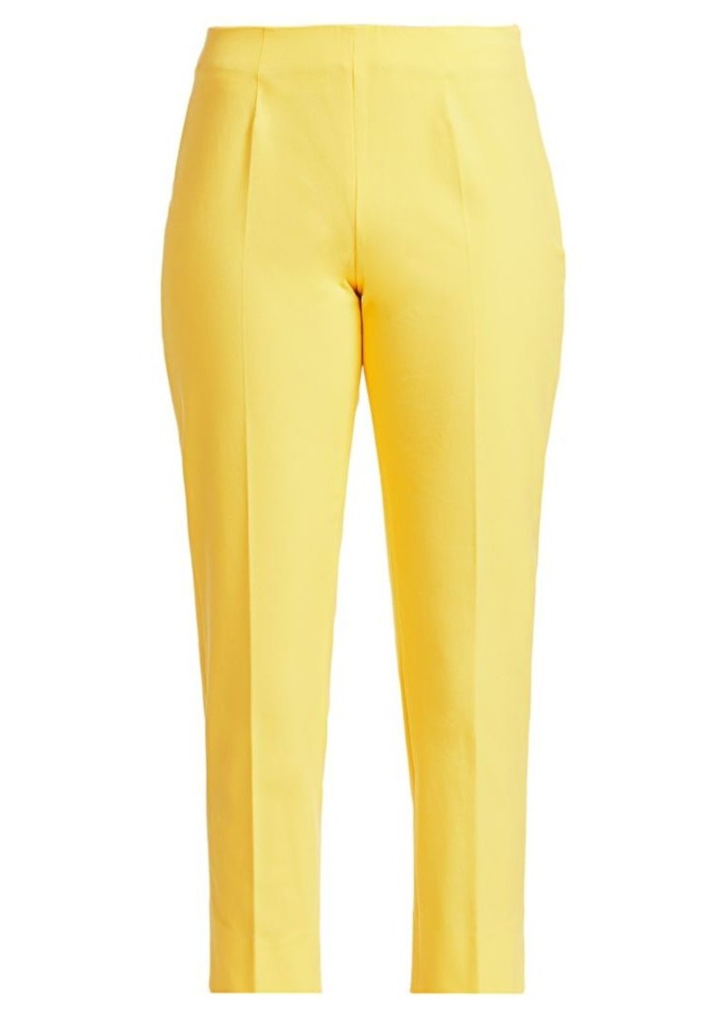 Piazza Sempione Audrey Stretch Cotton Cropped Pants
