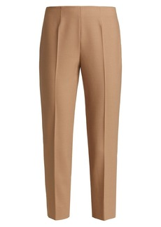 Piazza Sempione Audrey Wool Gabardine Cropped Pants