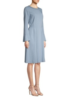 Piazza Sempione Bell Sleeve A-Line Dress