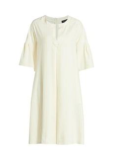 Piazza Sempione Bell Sleeve Shift Dress