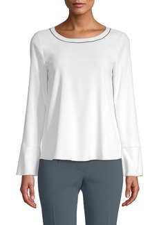 Piazza Sempione Bell-Sleeve Top