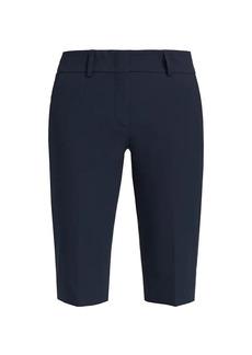 Piazza Sempione Bi-Stretch Gabardine Shorts