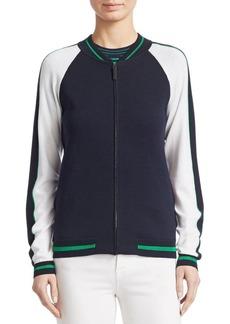 Piazza Sempione Bomber Knit Jacket