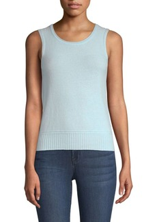 Piazza Sempione Cashmere Sleeveless Sweater Tank