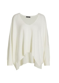 Piazza Sempione Cashmere V-Neck Knit Sweater