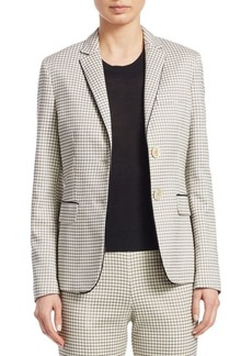 Piazza Sempione Check Jacquard Cotton Jacket