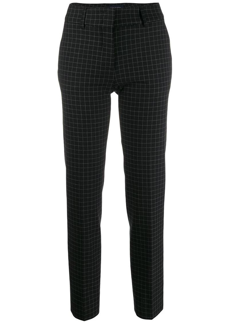 Piazza Sempione check tailored trousers