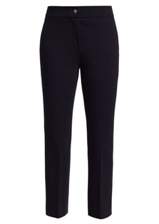 Piazza Sempione Cropped Flare Jersey Trousers