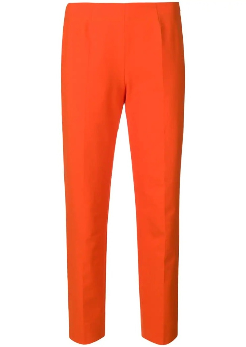 Piazza Sempione cropped slim fit trousers
