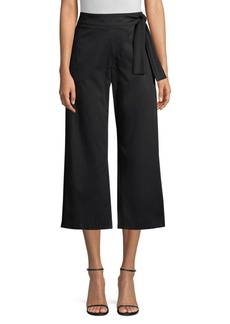 Piazza Sempione Cropped Tie-Waist Pants