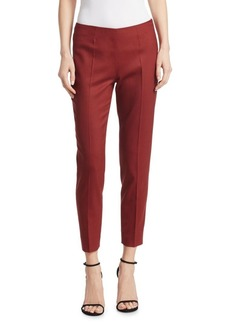 Piazza Sempione Emanuela Cropped Wool Trousers