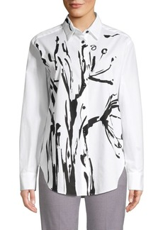 Piazza Sempione Flora Button-Down Shirt